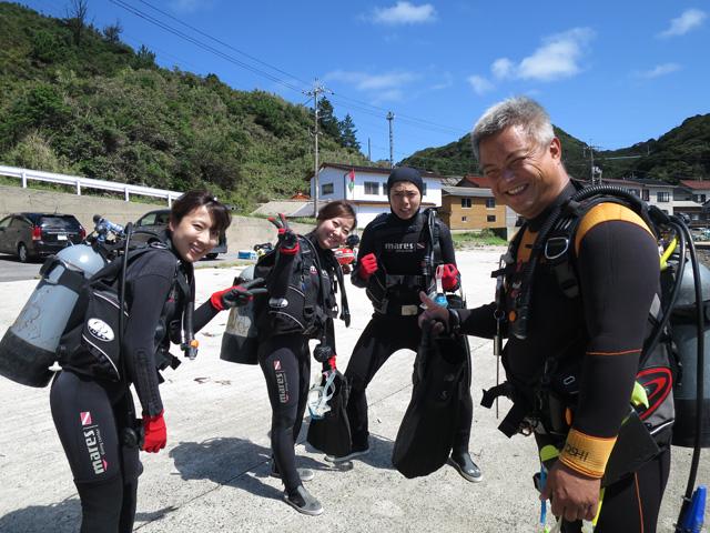 1本目の体験ダイビング1