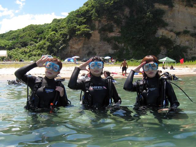1本目の体験ダイビング2