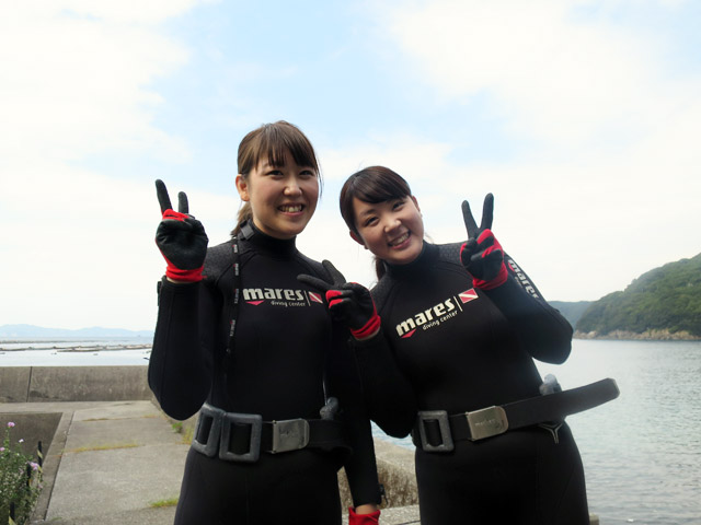 2日目の1本目の体験ダイビング2