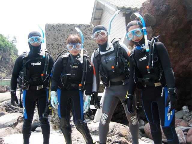 1本目のダイビング