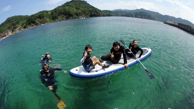 体験ダイビング海遊び2