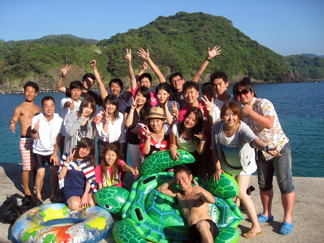 体験ダイビング海遊び5