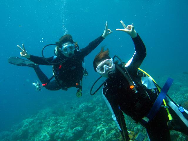 体験ダイビング海遊び7