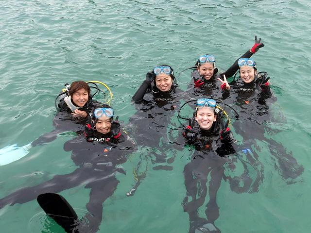 体験ダイビング海遊び8