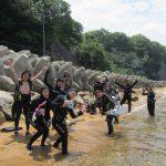 倉橋島で、ボートダイビングが楽しめるようになりました(^_-) もちろんビーチもOK!!のイメージ