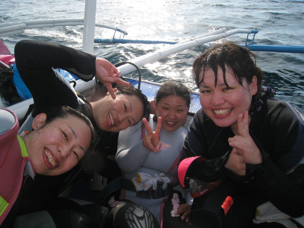 2月14~17日!マクロ天国!!《☆アニラオ!》時には、大物ジンベイも遭遇!暖かい海に行こうや(笑)のイメージ