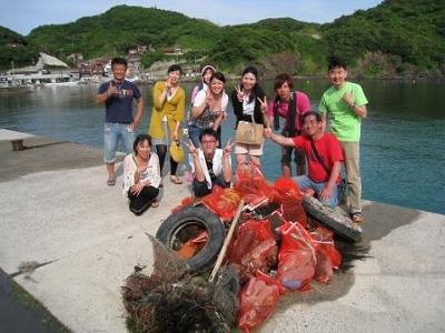 6月20日(日)俺たちの海を綺麗にするぞー! in 《松江!》★『毎年恒例!海中清掃!』みんなの協力求む!!今年はコロナでバーベキューは中止だけど、追加ダイビングは出来ちゃうよ!!のイメージ
